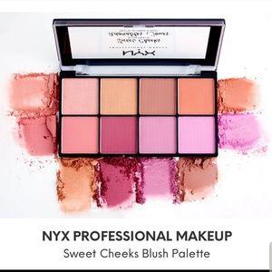 NYX Sweet Cheeks Blush Pallet